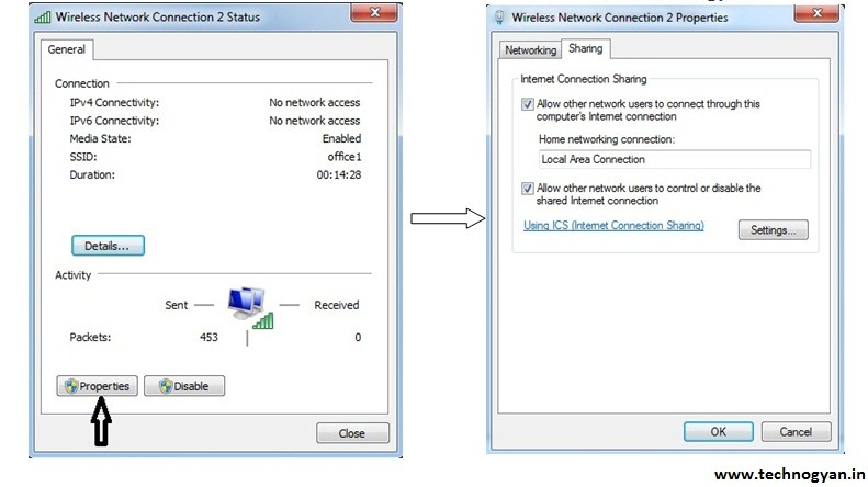How to Create a WiFi Hotspot in Windows 7 in Laptop